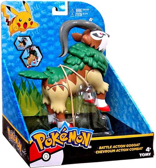 Pokemon Battle Action GoGoat 6-Inch Large Figure