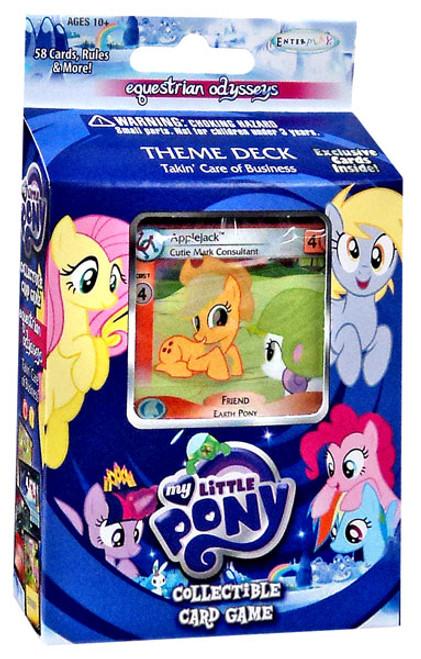 My Little Pony Friendship is Magic Equestrian Odysseys Takin' Care of Business Theme Deck