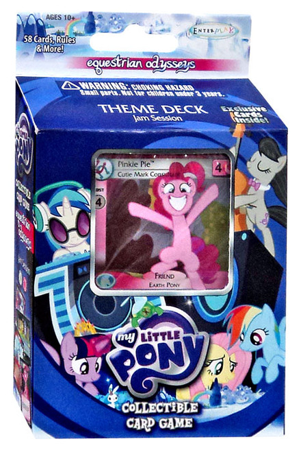 My Little Pony Friendship is Magic Equestrian Odysseys Jam Session Theme Deck