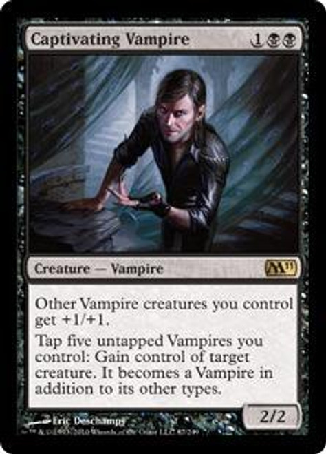MtG 2011 Core Set Rare Foil Captivating Vampire #87