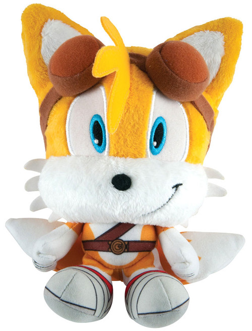 Sonic The Hedgehog Sonic Boom Tails Super Deformed 6-Inch Plush