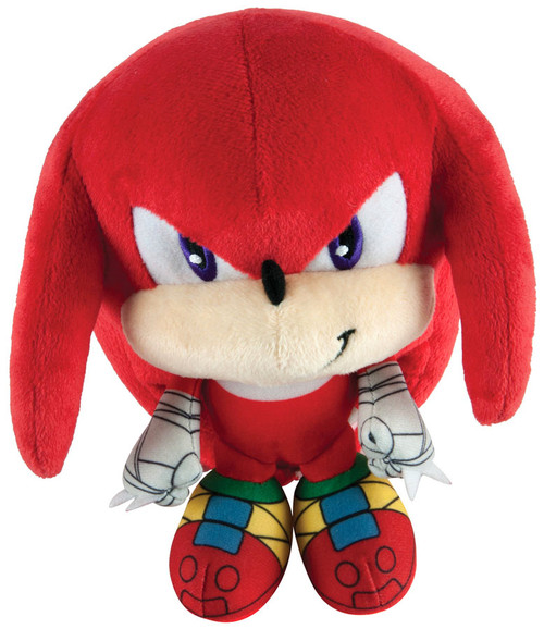 Sonic The Hedgehog Sonic Boom Knuckles Super Deformed 6-Inch Plush