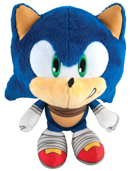 Sonic The Hedgehog Sonic Boom Sonic Super Deformed 6-Inch Plush