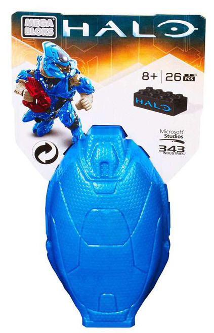 Mega Bloks Halo Metallic Elite Drop Pod Set #38316 [Blue]
