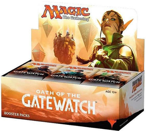 MtG Trading Card Game Oath of the Gatewatch Booster Box [36 Packs]