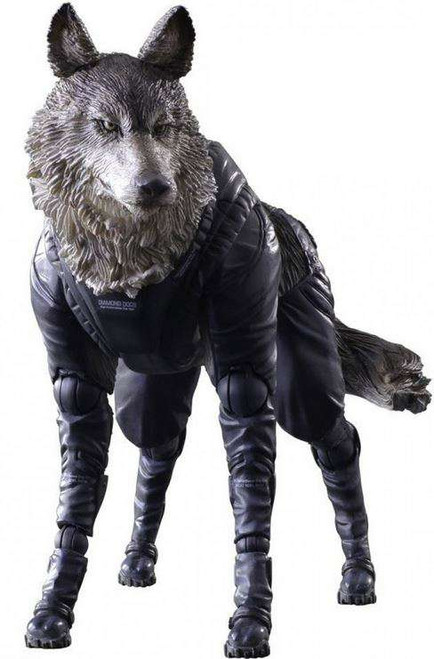 Metal Gear Solid V: The Phantom Pain Play Arts Kai D-Dog Action Figure