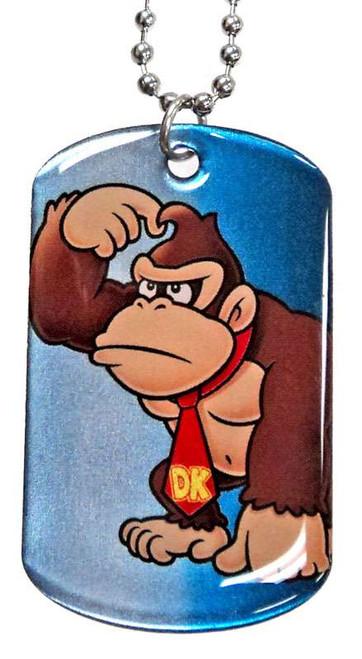 Super Mario 2D Donkey Kong Dog Tag #4 [Loose]