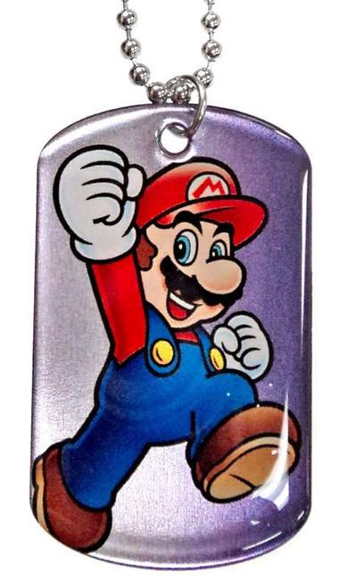Super Mario 2D Mario Dog Tag #6 [Loose]