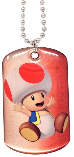 Super Mario 3D Toad Dog Tag #12 [Loose]