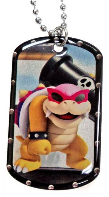 Super Mario Roy Koopa Dog Tag #23 [Loose]