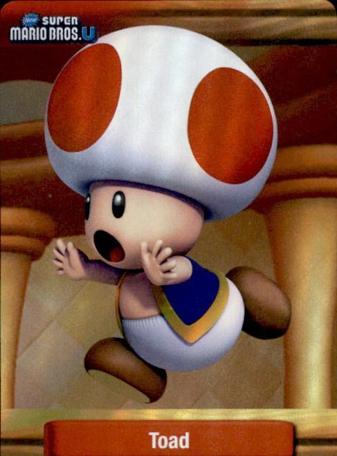 Super Mario Toad Dog Tag Trading Card #4