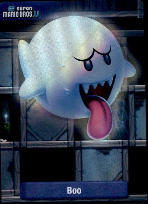 Super Mario Boo Dog Tag Trading Card #5