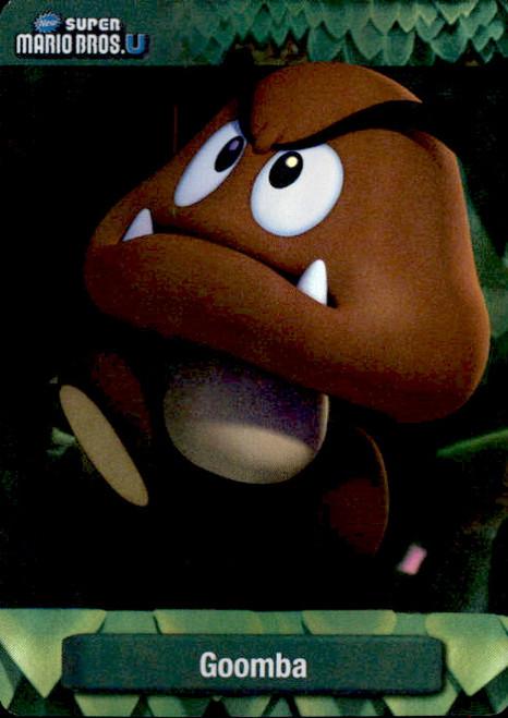 Super Mario Goomba Dog Tag Trading Card #7