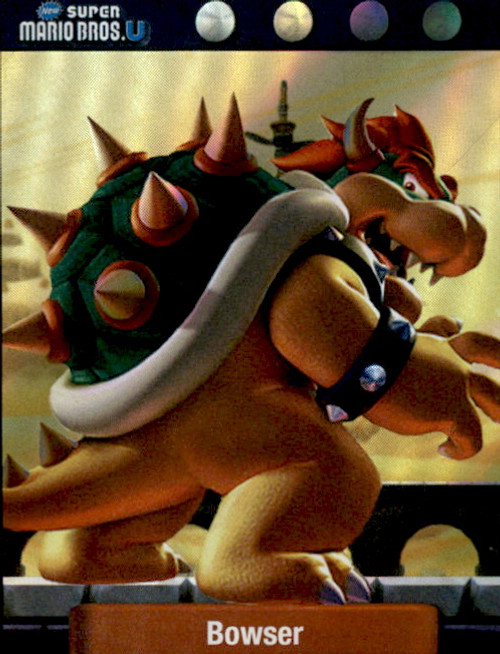 Super Mario Bowser Dog Tag Trading Card #15