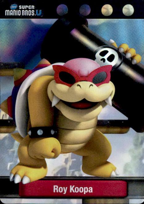 Super Mario Roy Koopa Dog Tag Trading Card #21