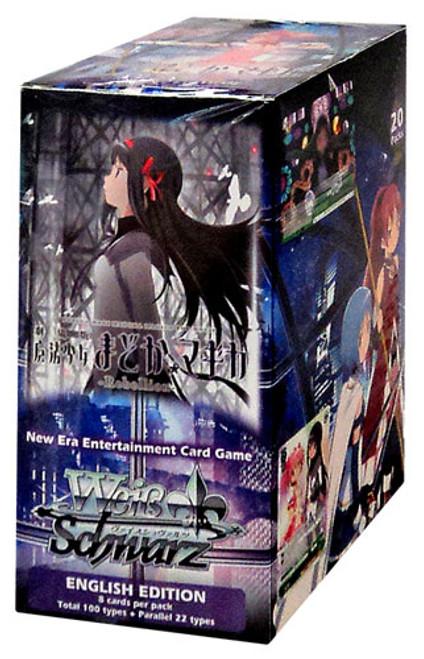 Weiss Schwarz Puella Magi Madoka Magica The Movie Rebellion Booster Box [20 Packs]