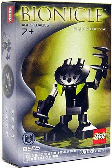 LEGO Bionicle Nuhvok Va Set #8555 [Open Package, Mint Contents]