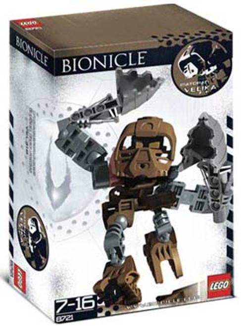 LEGO Bionicle Matoran Velika Set #8721 [Open Package, Mint Contents]