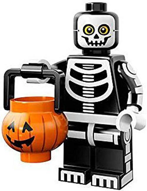 LEGO Minifigures Series 14 Skeleton Guy with Pumpkin Basket Minifigure [Loose]
