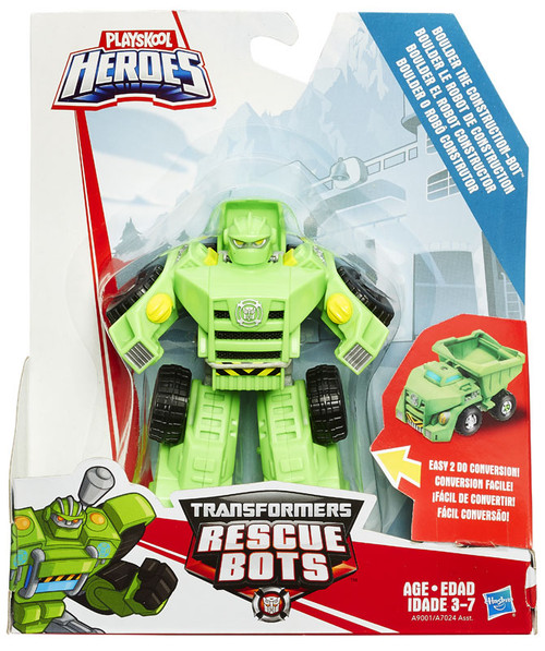 Transformers Playskool Heroes Rescue Bots Boulder the Construction Bot Action Figure [Rescan, 2015]