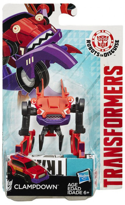 Transformers Robots in Disguise Clampdown Legion Action Figure