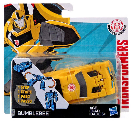 Transformers Robots in Disguise 1 Step Changers Bumblebee Action Figure [2015 Version]