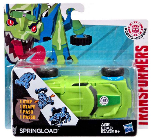 Transformers Robots in Disguise 1 Step Changers Springload Action Figure