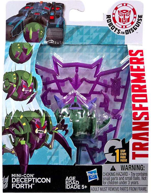 Transformers Robots in Disguise Mini-Con Decepticon Forth Action Figure