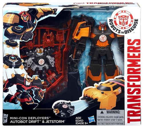 Transformers Robots in Disguise Minicon Deployers Autobot Drift & Jetstorm Action Figure