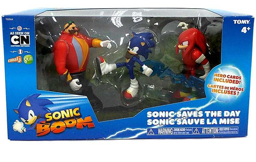Sonic The Hedgehog Sonic Boom Sonic Saves the Day Action Figure 3-Pack