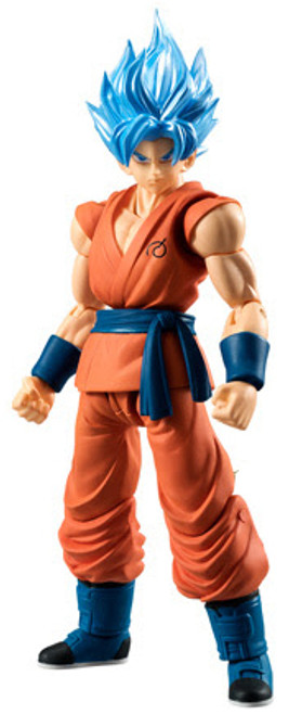 Dragon Ball Z Dragon Ball Super Shokugan Shodo Super Saiyan Blue Goku 3.75-Inch PVC Figure