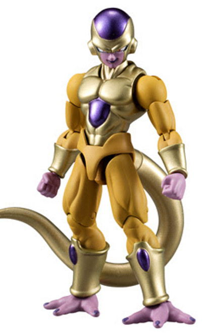 Dragon Ball Z Dragon Ball Super Shokugan Shodo Golden Frieza 3.75-Inch PVC Figure