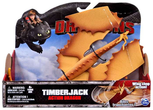 How to Train Your Dragon Dragons Action Dragon Timberjack Action Figure