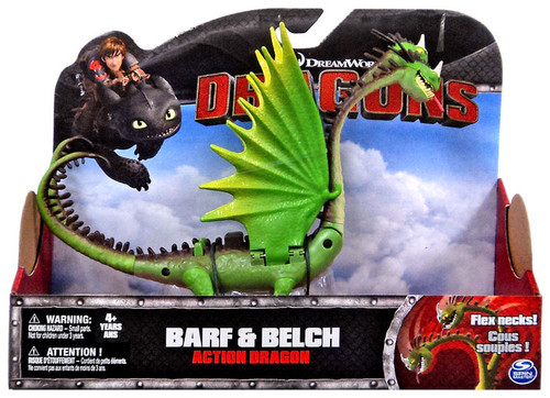 How to Train Your Dragon Dragons Action Dragon Barf & Belch Action Figure [Flex Necks!]