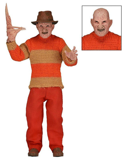 NECA Nightmare on Elm Street NES Freddy Krueger Exclusive Clothed Action Figure