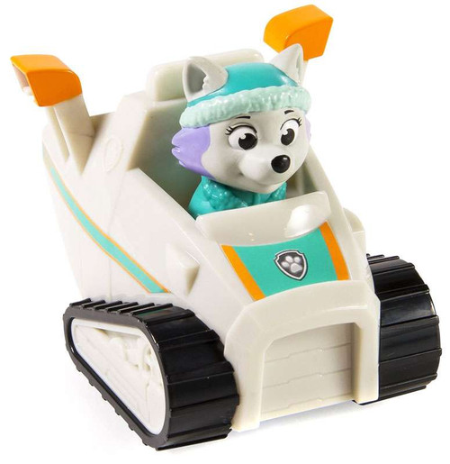 Paw Patrol Rescue Racer Everest Figure [Figure Does Not Come Out!]