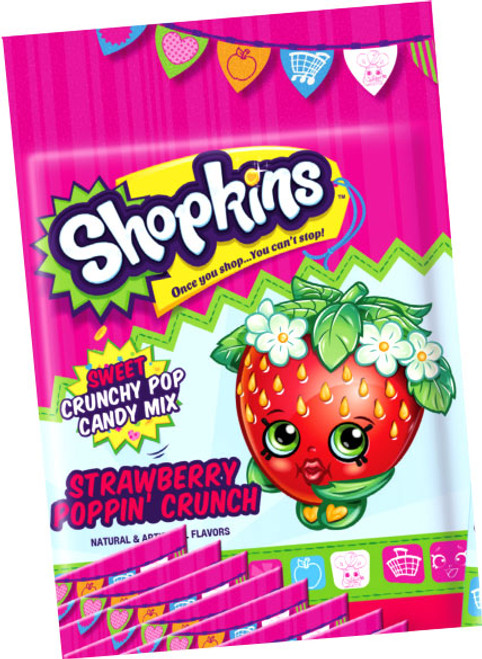 Shopkins Strawberry Poppin' Crunch Candy Pack