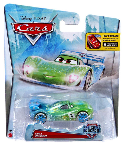 Disney / Pixar Cars Ice Racers Carla Veloso Diecast Car [Special Icy Edition]