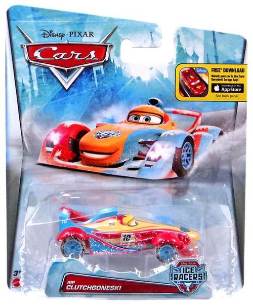 Disney / Pixar Cars Ice Racers Rip Clutchgoneski Diecast Car [Special Icy Edition]