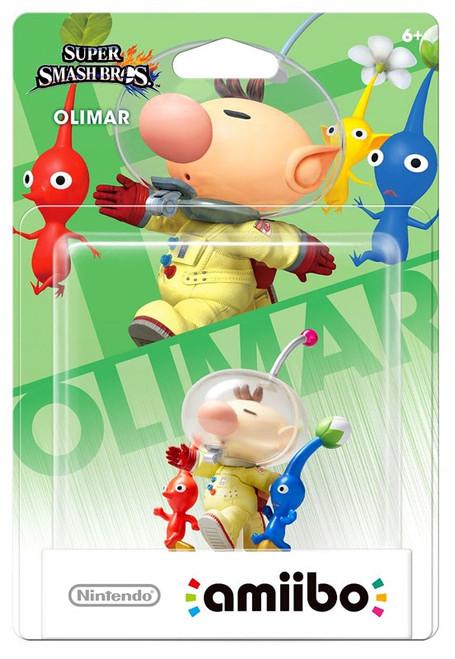 Nintendo Super Smash Bros Amiibo Olimar Mini Figure
