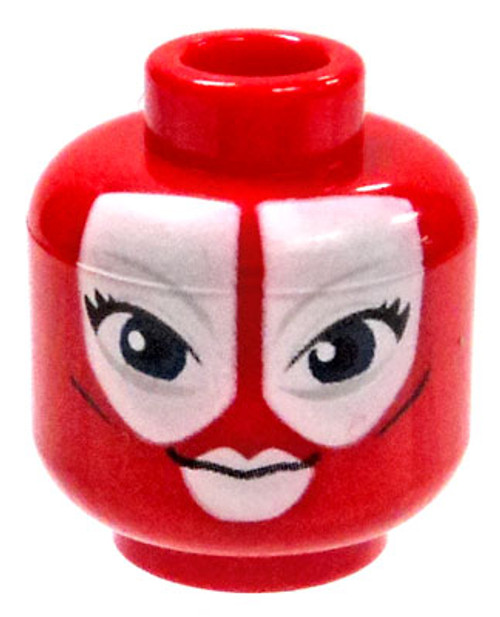 Star Wars Red Female Alien with Large White Markings Minifigure Head [Loose]