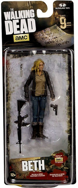 McFarlane Toys The Walking Dead AMC TV Series 9 Beth Greene Action Figure