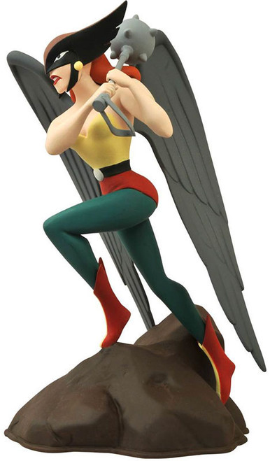 JLA DC Gallery Hawkgirl 9-Inch PVC Statue