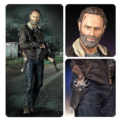 The Walking Dead Season 5 Rick Grimes 18-Inch Statue