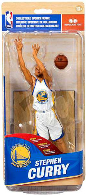 McFarlane Toys NBA Golden State Warriors Sports Picks Series 28 Stephen Curry Action Figure