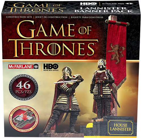 McFarlane Toys Game of Thrones House Lannister Construction Set #19361