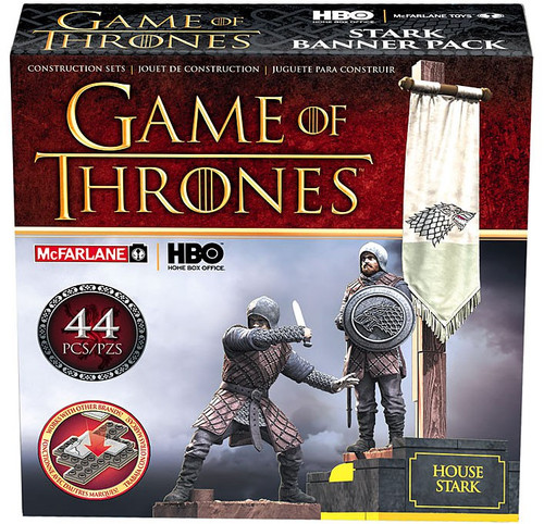 McFarlane Toys Game of Thrones House Stark Construction Set #19362