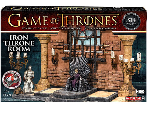 McFarlane Toys Game of Thrones Iron Throne Room Construction Sets #19391