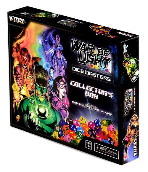 DC War of Light Dice Masters Collector's Box