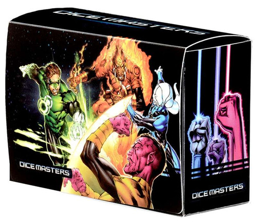 DC War of Light Dice Masters Magnetic Dice Box